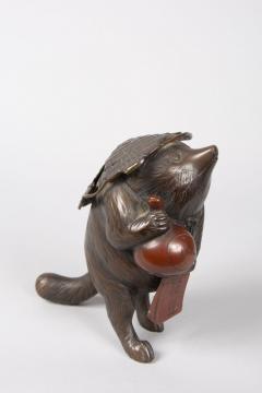 Bronze Figure of a Badger - 1950290