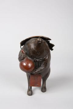 Bronze Figure of a Badger - 1950291