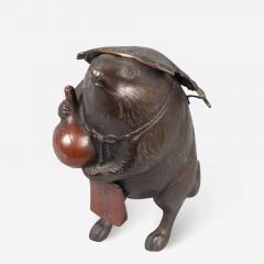 Bronze Figure of a Badger - 1953469