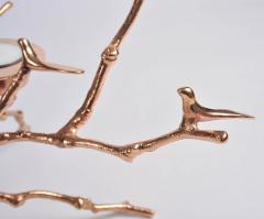 Bronze Magnolia Candle Holder - 1233763
