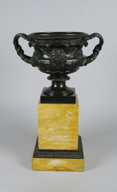 Bronze and Sienna Marble Warwick Vase early 19th c  - 757275