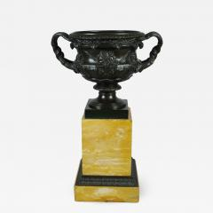 Bronze and Sienna Marble Warwick Vase early 19th c  - 758048