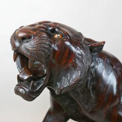 Bronze tiger 3 4 life size - 778690