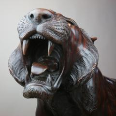 Bronze tiger 3 4 life size - 778691