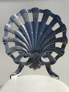 Brown Jordan Pair Venetian Grotto Style Aluminum Shell Chairs - 567078