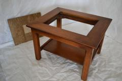 Brown Saltman Matched Pair of Stone Inlayed End Tables from Brown Saltman - 572741