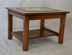 Brown Saltman Matched Pair of Stone Inlayed End Tables from Brown Saltman - 572743