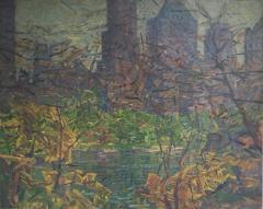 Bruce Nelson New York Skyline from Central Park - 1592847