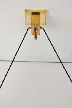 Bruno Chiarini 1950s Bruno Chiarini Double Pendant Suspension Lamp for Stilnovo - 1769714