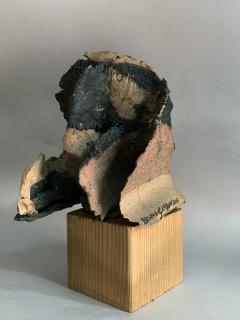 Bruno Gambone Bruno Gambone Grotesque Sculpture In Painted Ceramic Italy 2003 - 1995539