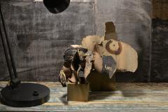 Bruno Gambone Bruno Gambone Grotesque Sculpture In Painted Ceramic Italy 2003 - 1995550