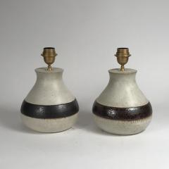 Bruno Gambone Pair of Ceramic Lamps by Bruno Gambone - 512109