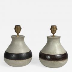 Bruno Gambone Pair of Ceramic Lamps by Bruno Gambone - 512901