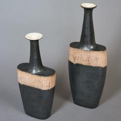 Bruno Gambone Pair of Long Neck Vessels - 933900