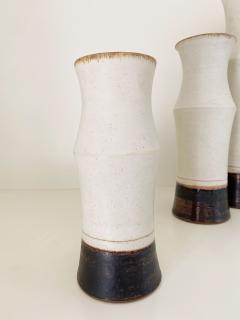 Bruno Gambone Set of Three Bruno Gambone Vases - 2110267