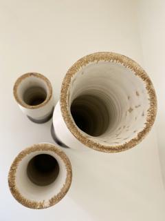Bruno Gambone Set of Three Bruno Gambone Vases - 2110274