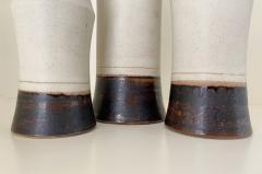Bruno Gambone Set of Three Bruno Gambone Vases - 2110275