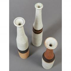 Bruno Gambone Set of Three Miniature Gambone Ceramic Vessels ca 1980 - 1002248