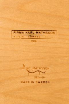 Bruno Mathsson Bruno Mathsson Side Magazine Table by Karl Mathsson in V rnamo Sweden - 1780316