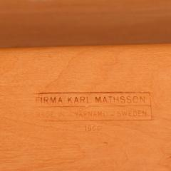 Bruno Mathsson Bruno Mathsson Table Desk made by Karl Mathsson 1966 - 1220281
