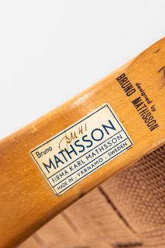 Bruno Mathsson Easy Chair Model Eva Produced by Karl Mathsson in V rnamo - 1857283