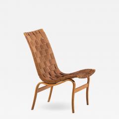 Bruno Mathsson Easy Chair Model Eva Produced by Karl Mathsson in V rnamo - 1858048
