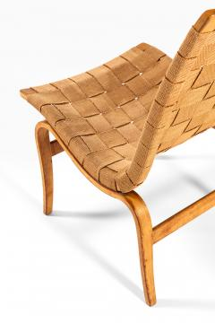 Bruno Mathsson Easy Chair Model Eva Produced by Karl Mathsson in V rnamo - 1857291
