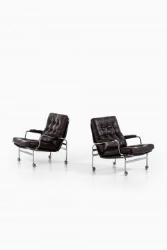 Bruno Mathsson Easy Chairs Model Karin Produced by DUX - 1851867