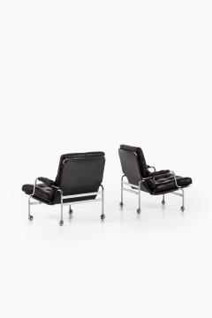 Bruno Mathsson Easy Chairs Model Karin Produced by DUX - 1851876