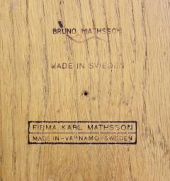 Bruno Mathsson Extremely Rare Diminutive Anika Table Designed by Bruno Mathsson - 983972