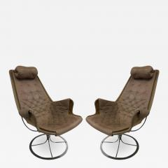 Bruno Mathsson Pair of Bruno Mathsson Jetson Lounge Chairs for DUX - 535228