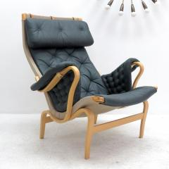 Bruno Mathsson Pernilla Lounge Chair with Ottoman by Bruno Mathsson for DUX - 584293