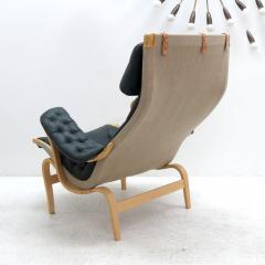 Bruno Mathsson Pernilla Lounge Chair with Ottoman by Bruno Mathsson for DUX - 584294