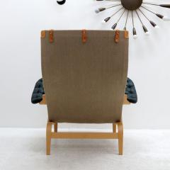 Bruno Mathsson Pernilla Lounge Chair with Ottoman by Bruno Mathsson for DUX - 584295