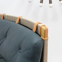 Bruno Mathsson Pernilla Lounge Chair with Ottoman by Bruno Mathsson for DUX - 584296