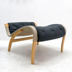 Bruno Mathsson Pernilla Lounge Chair with Ottoman by Bruno Mathsson for DUX - 584298