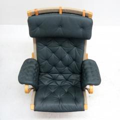 Bruno Mathsson Pernilla Lounge Chair with Ottoman by Bruno Mathsson for DUX - 584299