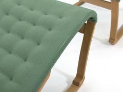 Bruno Mathsson Rare Model Bruno Mathsson Migo Chair and Ottoman - 1067203