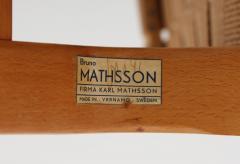 Bruno Mathsson Scandinavian Easy Chairs Eva by Bruno Mathsson 1940s - 1114775