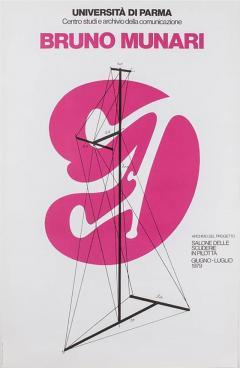 Bruno Munari Bruno Munari Original Poster - 800312