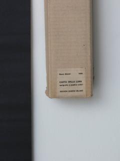 Bruno Munari Rare Map of The Moon Screenprint by Bruno Munari for Danese - 1392785
