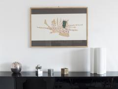Bruno Munari Ricostruzione teorica di un oggetto immaginario Silkscreen Print for Danese - 1065073