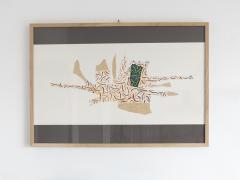 Bruno Munari Ricostruzione teorica di un oggetto immaginario Silkscreen Print for Danese - 1065074