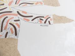 Bruno Munari Ricostruzione teorica di un oggetto immaginario Silkscreen Print for Danese - 1065076