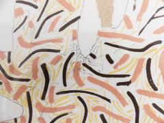 Bruno Munari Ricostruzione teorica di un oggetto immaginario Silkscreen Print for Danese - 1065078
