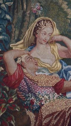 Brussels Tapestry Fragment Venus and Adonis with Cupid - 1429845
