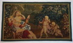 Brussels Tapestry Fragment Venus and Adonis with Cupid - 1429848