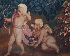 Brussels Tapestry Fragment Venus and Adonis with Cupid - 1429853