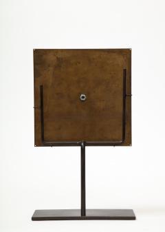 Brutalist Bronze Piece on Stand 20th Century - 1327150