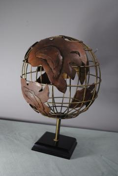Brutalist Globe - 1195073